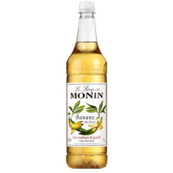 Monin Yellow Banana Syrup 1 Litre