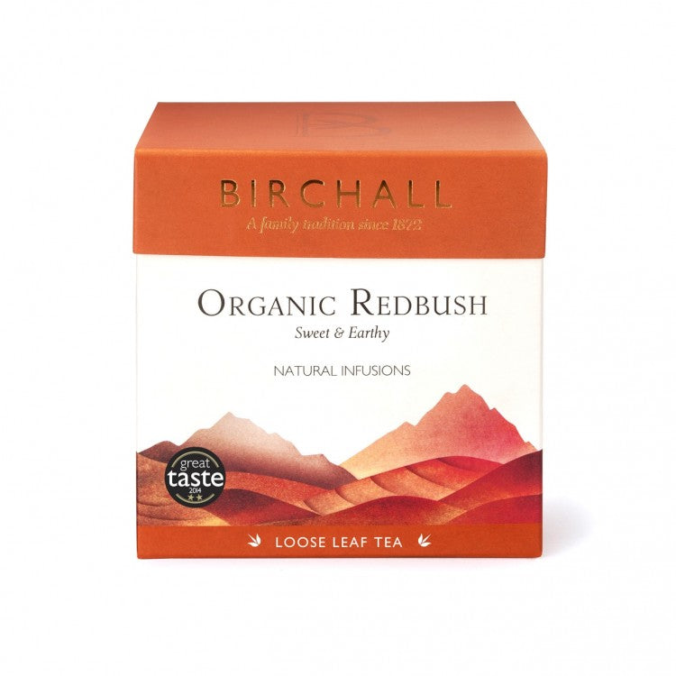 Birchall Organic Redbush - 125g Loose Leaf Tea