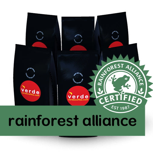 Rainforest Alliance Coffee Beans