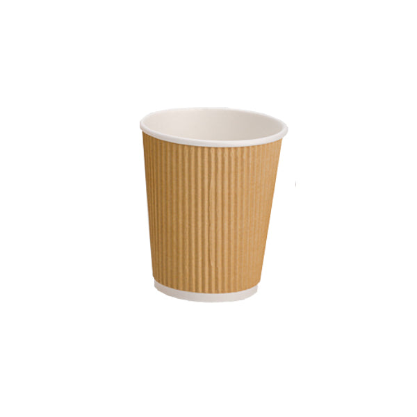 Takeaway Ripple Cup 8oz (500) 20% Discount
