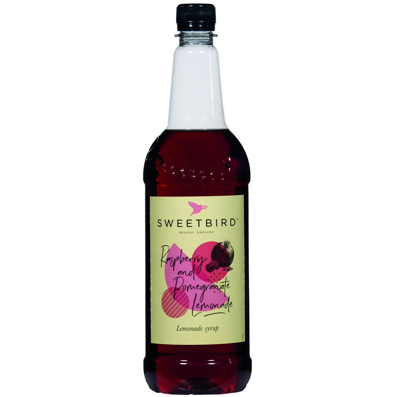Sweetbird Raspberry & Pomegranate Lemonade Syrup 1 Litre