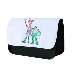 Watercolour Woody & Buzz Toy Story Disney Pencil Case - Fun Cases