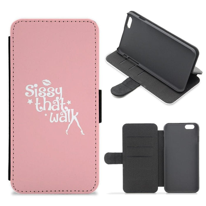 Pink Sissy That Walk Stilettos - RuPaul's Drag Race Flip Wallet Phone Case - Fun Cases