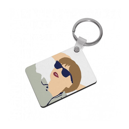 Taylor Swift Cartoon 2 Keyring