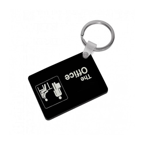 The Office Logo Keyring - Fun Cases