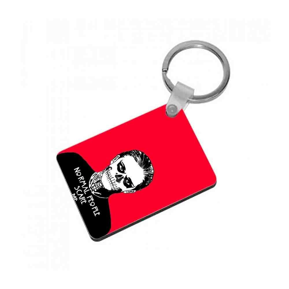 Normal People Scare Me - American Horror Story Keyring - Fun Cases