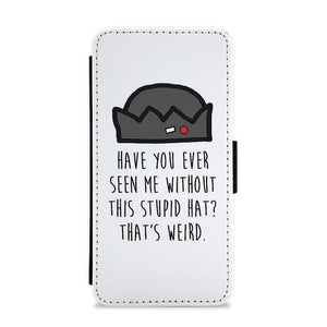 Jughead Jones - Stupid Hat - Riverdale Flip / Wallet Phone Case - Fun Cases