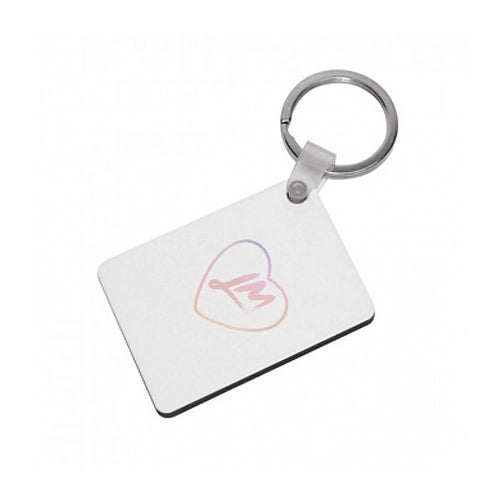 Little Mix Heart Keyring - Pastel - Fun Cases