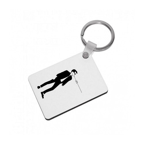 Artctic Monkeys Silhouette Keyring - Fun Cases