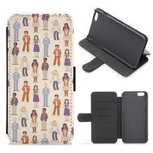 The Good Place Characters Flip Wallet Phone Case - Fun Cases