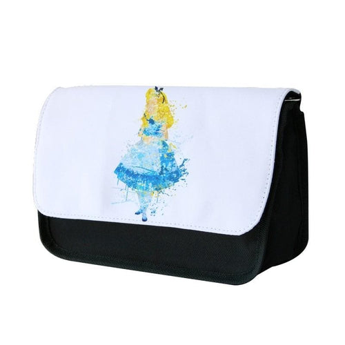 Watercolour Alice in Wonderland Disney Pencil Case - Fun Cases