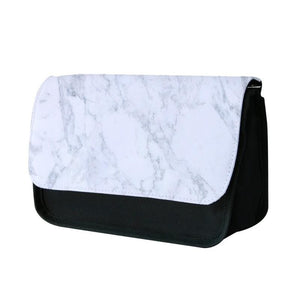 White Marble Pattern Pencil Case - Fun Cases