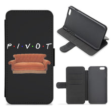 Pivot - Friends Flip / Wallet Phone Case - Fun Cases