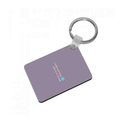 Certified Arianator - Ariana Grande Keyring - Fun Cases