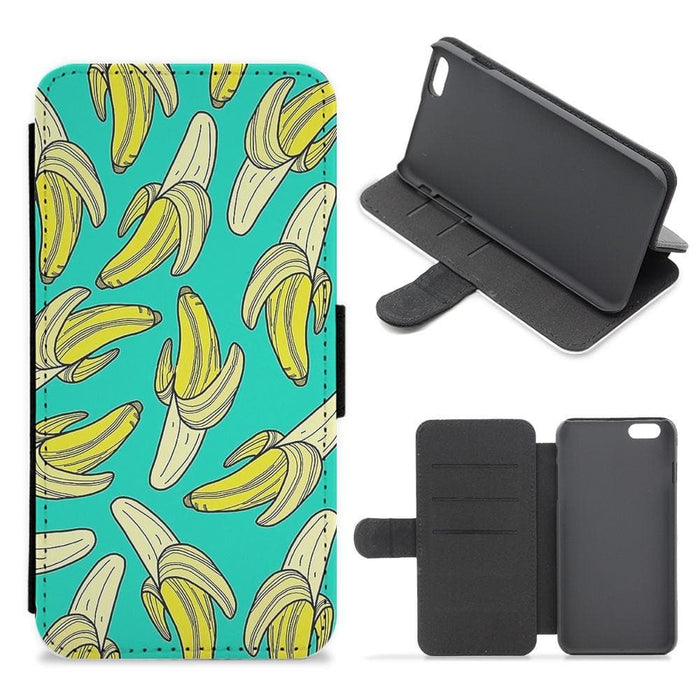 Banana Splat Flip Wallet Phone Case - Fun Cases