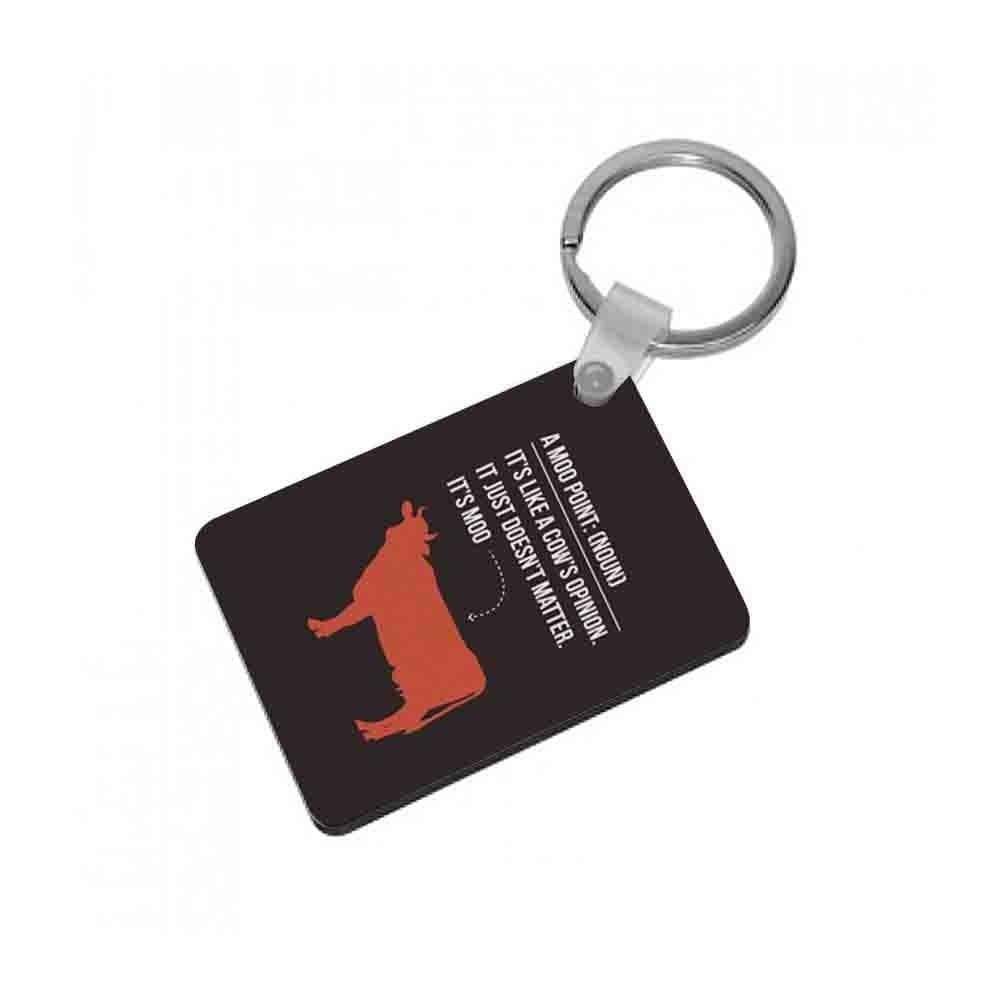 "Moo Point€"" - Friends Keyring - Fun Cases"