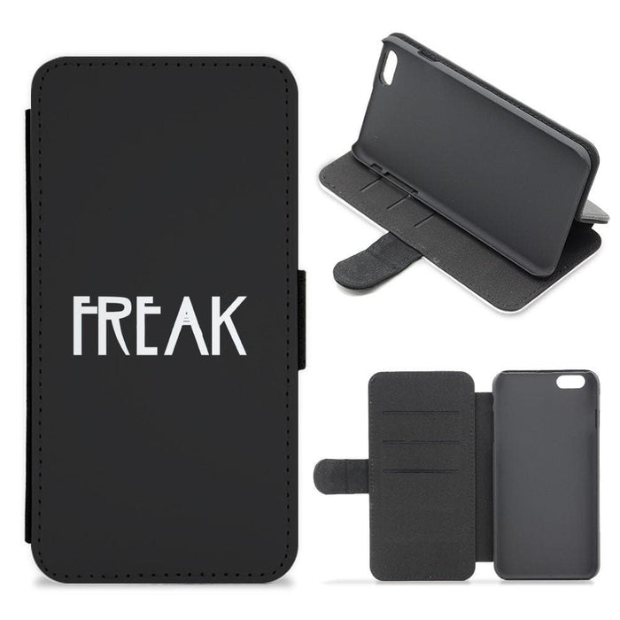 Freak - American Horror Story Flip / Wallet Phone Case - Fun Cases