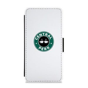 Central Perk - Starbucks Logo - Friends Flip / Wallet Phone Case - Fun Cases