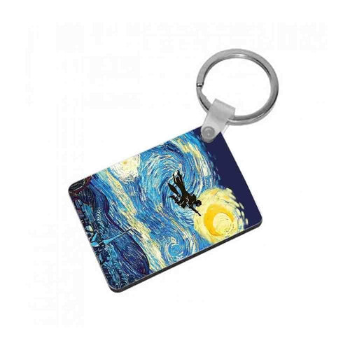 Starry Potter - Harry Potter Keyring - Fun Cases