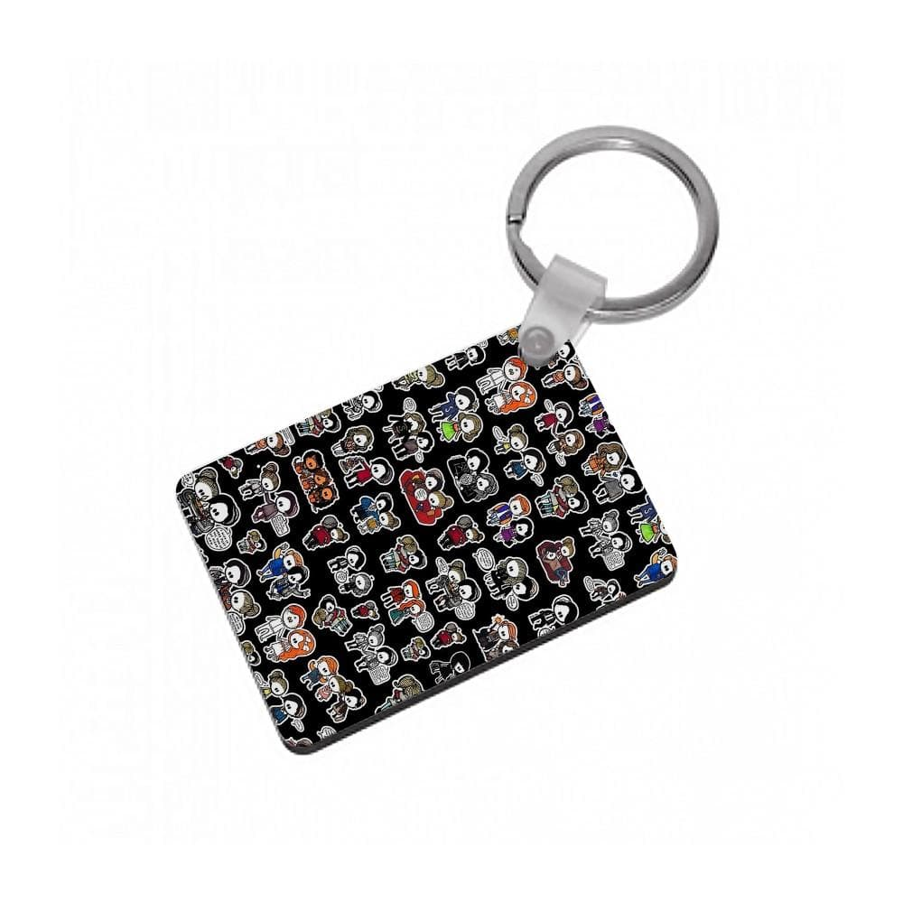 Riverdale Dolls Pattern Keyring - Fun Cases
