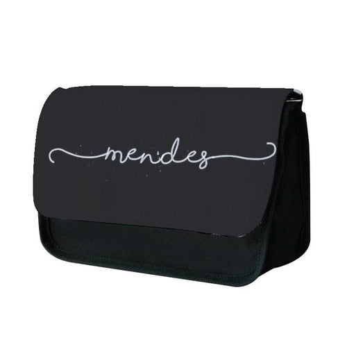 Black Mendes Handwriting - Shawn Mendes Pencil Case - Fun Cases