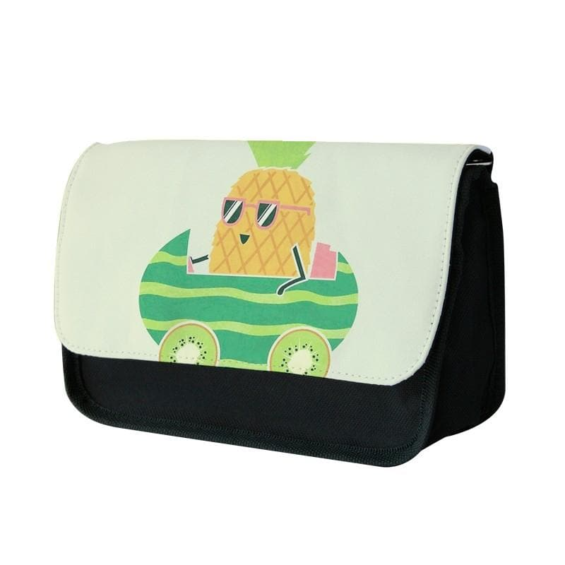 Summer Drive Pineapple Pencil Case - Fun Cases