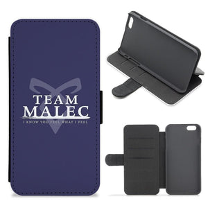 Shadowhunters - Team Malec Flip Wallet Phone Case - Fun Cases