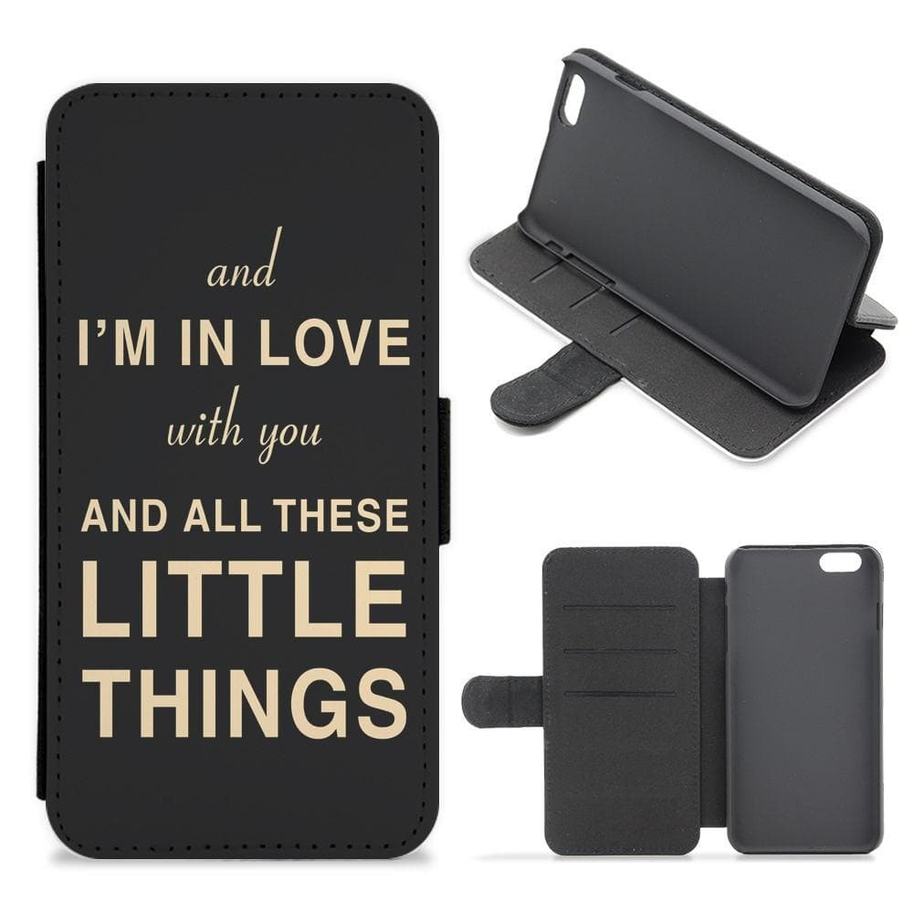 Little Things - One Direction Flip / Wallet Phone Case - Fun Cases