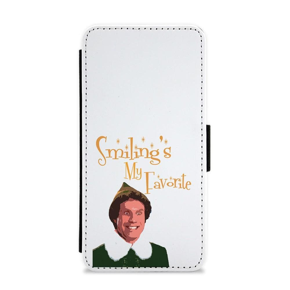 Smiling's My Favourite - Buddy The Elf Flip / Wallet Phone Case - Fun Cases