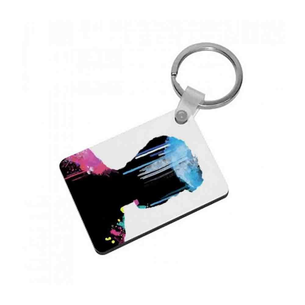 Shawn Mendes Watercolour Splash Keyring - Fun Cases