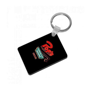Pop's Chock'Lit Shoppe - Riverdale Keyring - Fun Cases