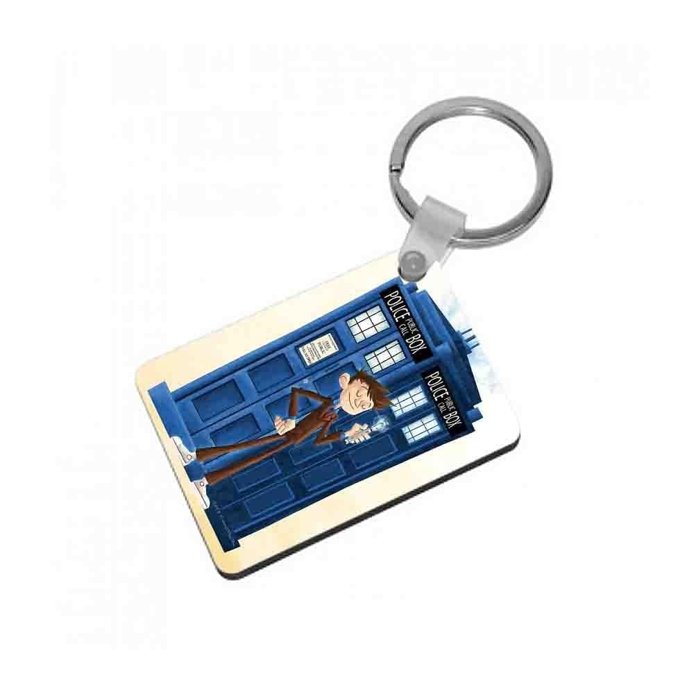 The Tenth Doctor - Doctor Who Keyring - Fun Cases