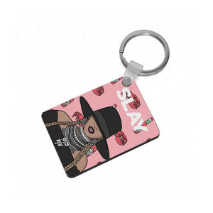 Slay - Beyonce Cartoon Keyring - Fun Cases