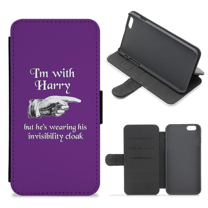 I'm With Harry - Harry Potter Flip Wallet Phone Case - Fun Cases