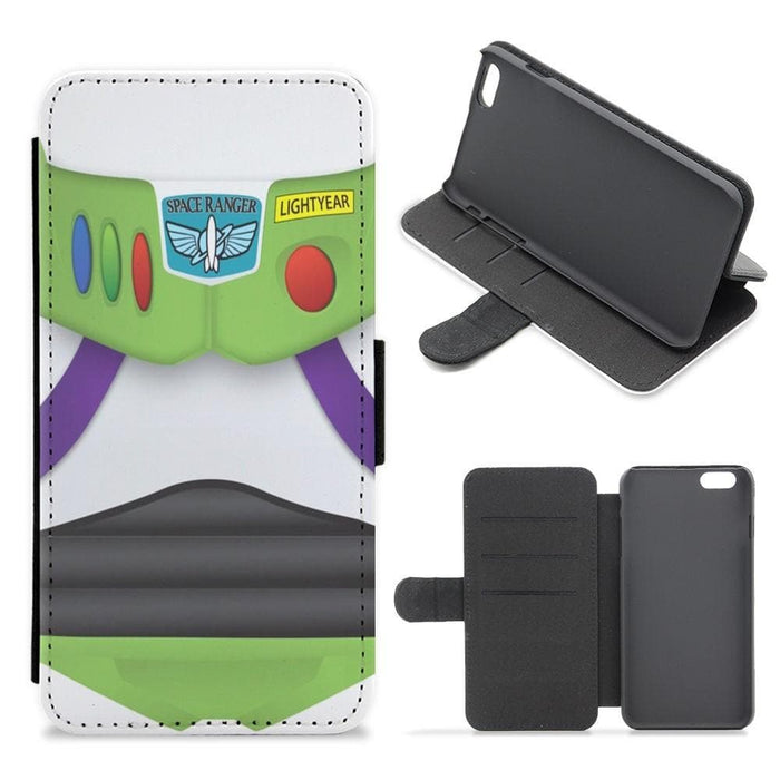 Buzz Outfit Toy Story Flip / Wallet Phone Case - Fun Cases
