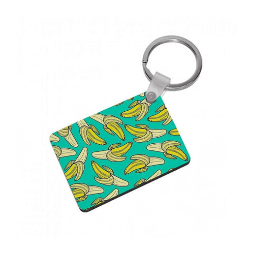 Banana Splat Keyring - Fun Cases