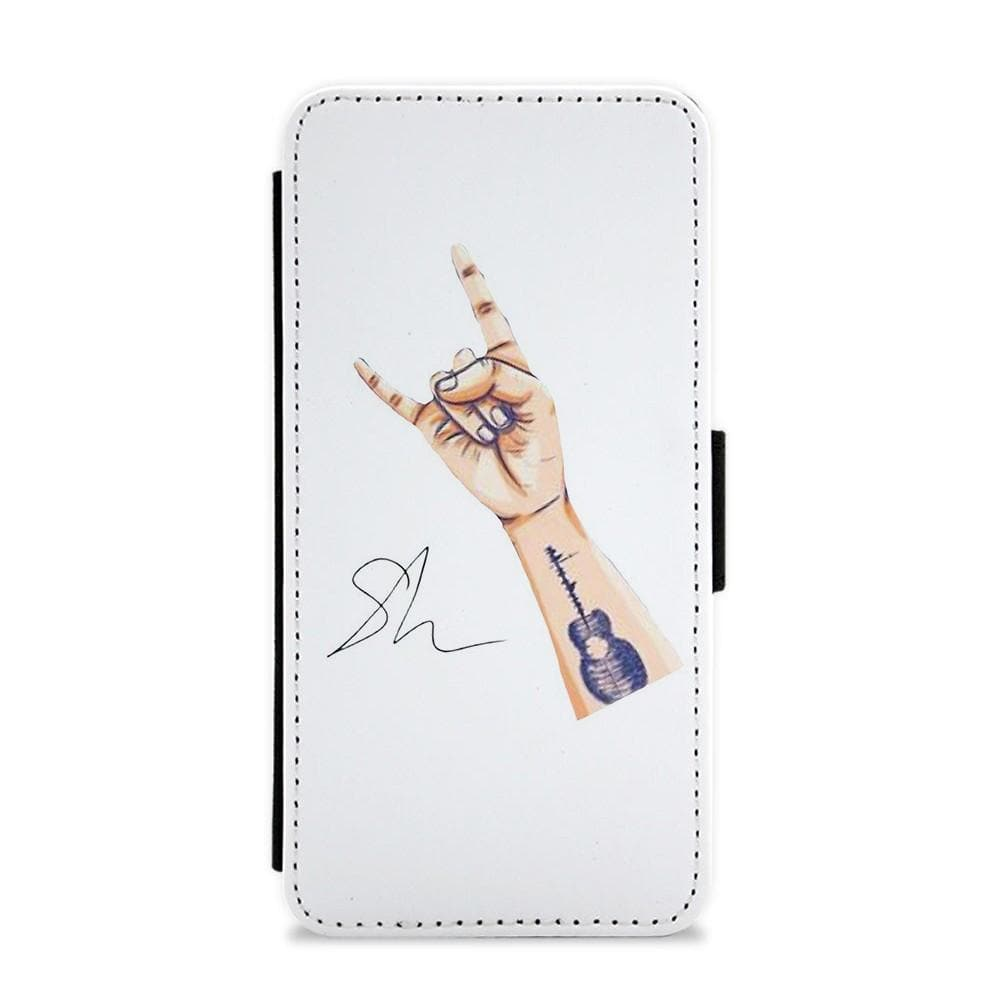 Shawn Mendes Tattoo Arm Flip / Wallet Phone Case - Fun Cases