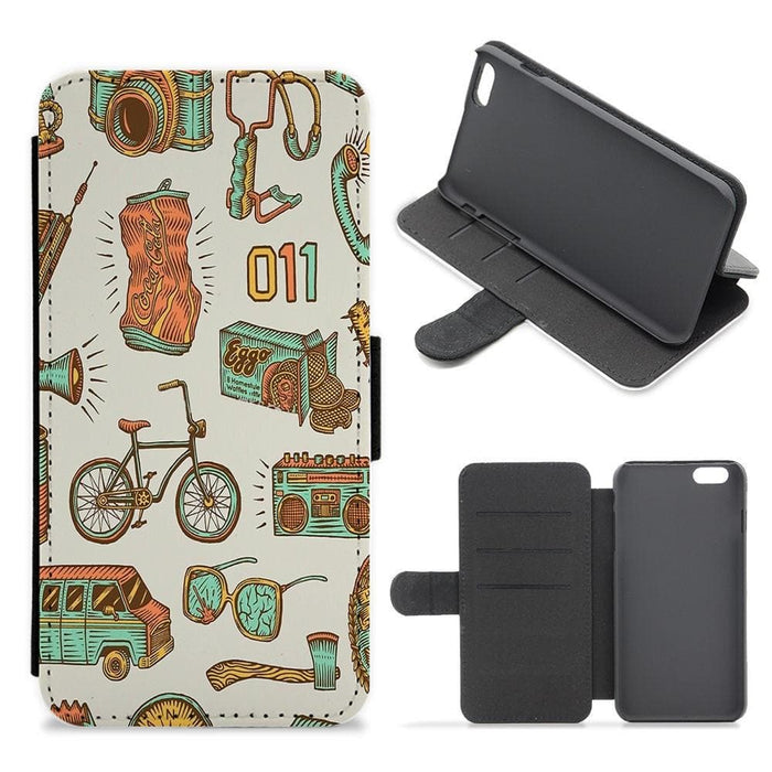 Stranger Options - Stranger Things Flip / Wallet Phone Case - Fun Cases