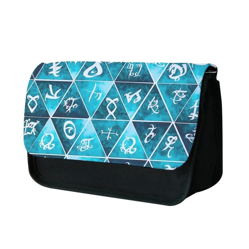 Shadowhunters Runes Mosaic Pencil Case - Fun Cases