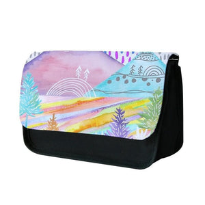 Watercolour Landscape Pencil Case - Fun Cases