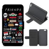 Friends Wallet Phone Case - All The Quotes - Friends Flip / Wallet Phone Case