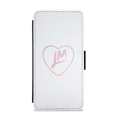 Little Mix Heart Flip / Wallet Phone Case - Pastel - Fun Cases