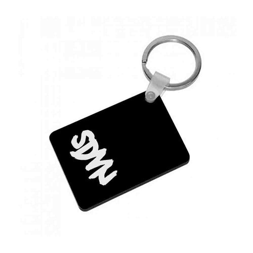 Sidemen - Black SDMN Keyring - Fun Cases
