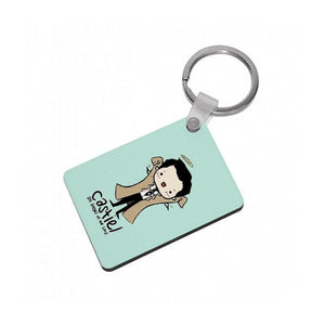 Castiel - Angel of the Lord - Supernatural Keyring - Fun Cases