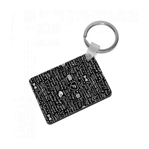 Little Mix Quotes Keyring - Fun Cases
