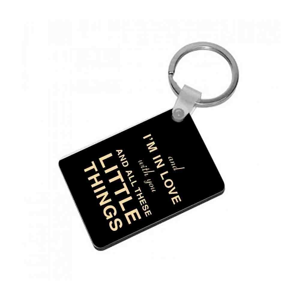 Little Things - One Direction Keyring - Fun Cases