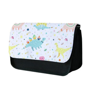 Dinosaur Pattern Pencil Case - Fun Cases