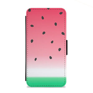 Watermelon Ombre Flip Wallet Phone Case - Fun Cases