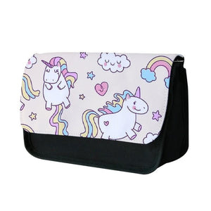 Cute Unicorn Pattern Pencil Case - Fun Cases
