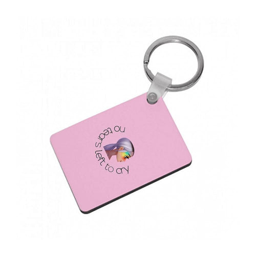No Tears Left To Cry - Ariana Grande Keyring - Fun Cases
